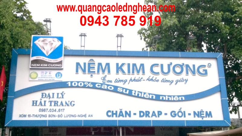 Thi công biển quảng cáo tại Nghệ An