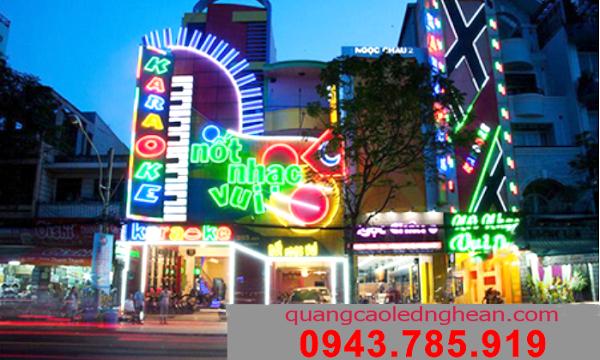 Làm biển quảng cáo tại TP Vinh, Nghệ An - Hà Tĩnh